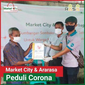 Aksi Berbagi Market city & ararasa bsd