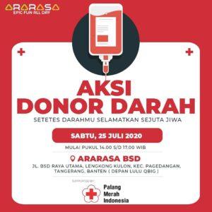 ararasa berbagi : aksi donor darah